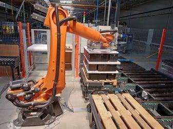 intégration d'un robot industriel