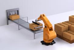 Palettisation robotique